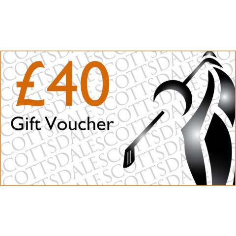 Scottsdale Golf £40.00 Gift Voucher Receive by Email