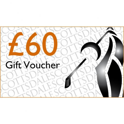 Scottsdale Golf £60.00 Gift Voucher Receive by Email