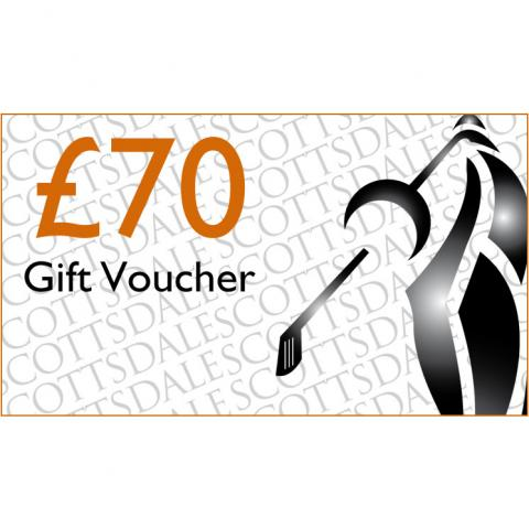 Scottsdale Golf £70 Gift Voucher Receive by Email