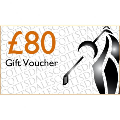 Scottsdale Golf £80 Gift Voucher Receive by Email