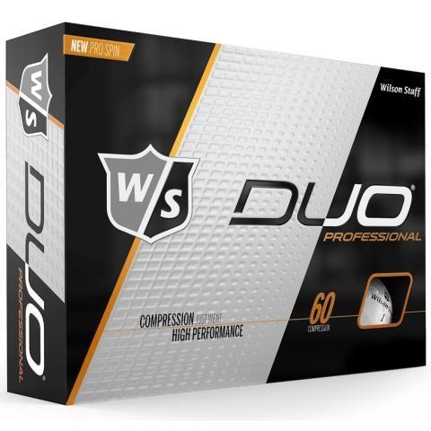 Wilson Duo Professional Golf Balls White / Dozen