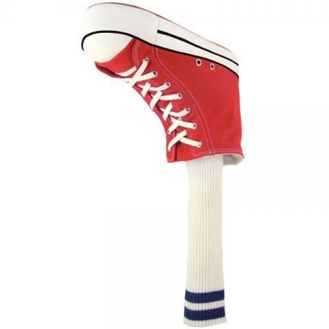 Winning Edge Novelty Golf Club Headcover Red Sneaker