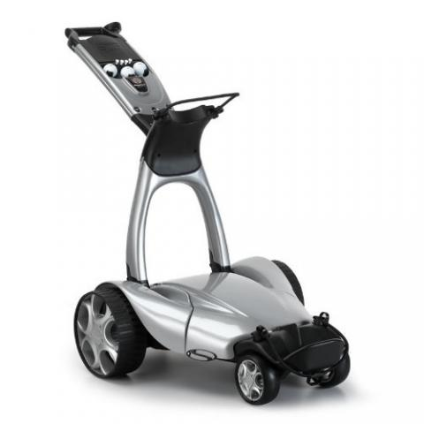 Stewart X9 Follow Electric Golf Trolley Metallic Silver / Lithium Battery