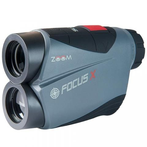 Zoom Focus X Slope Golf Laser Rangefinder Charcoal/Black/Red