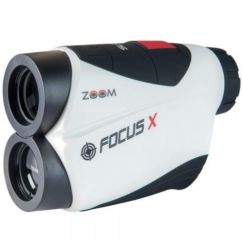 Zoom Focus X Slope Golf Laser Rangefinder White/Black/Red