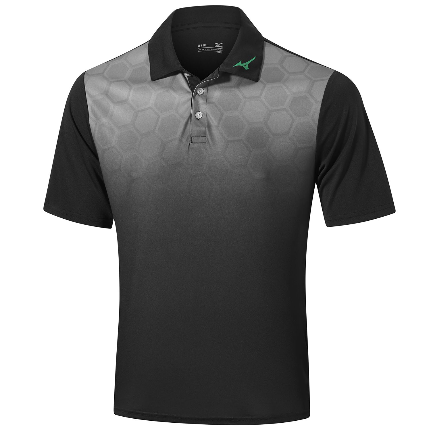 Mizuno Gradient Hexagon Polo Shirt