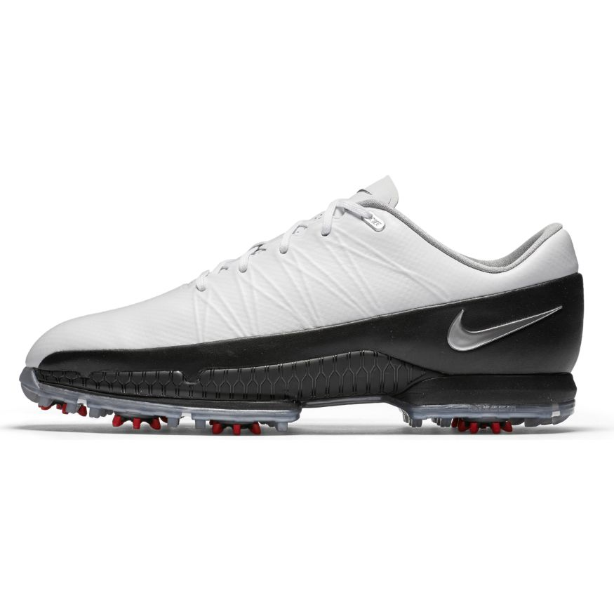 Nike Air Zoom Attack Golf Shoes White Metallic Silver Black ... daf4107ed