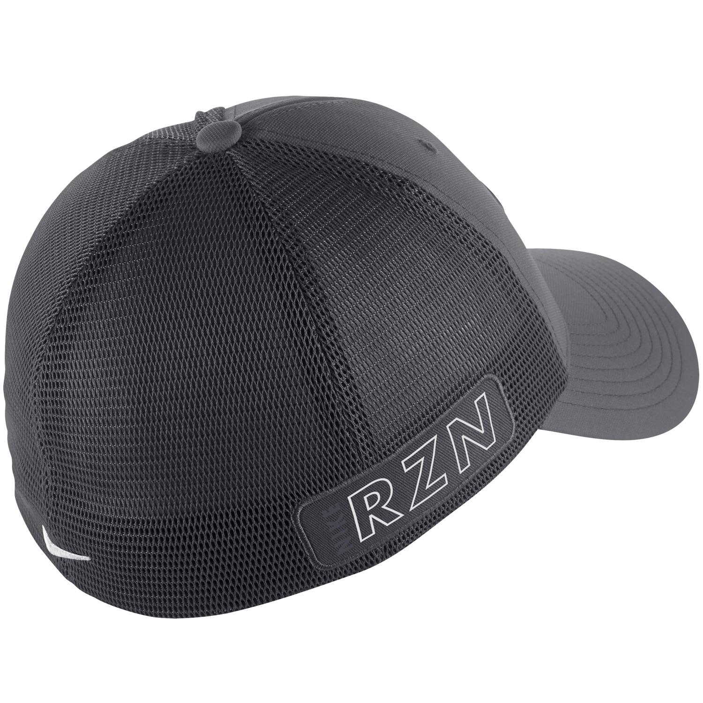 Nike tour legacy mesh cap dark grey white scottsdale golf