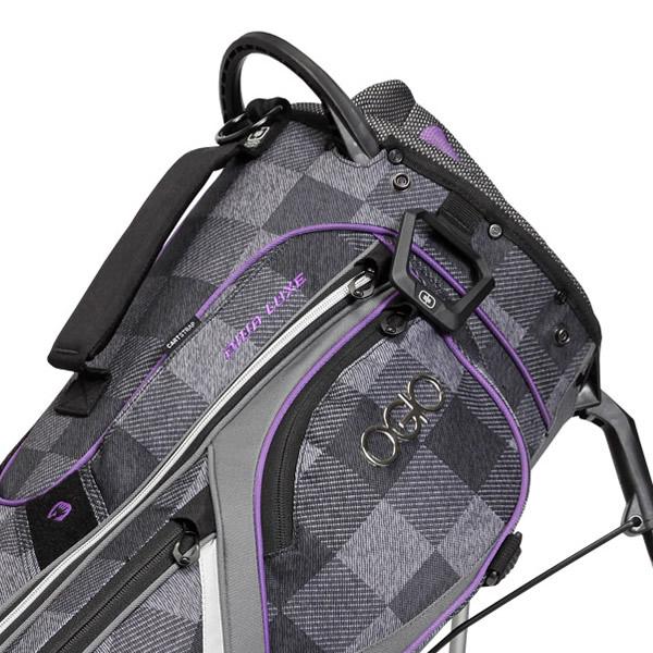 Ogio Diva Luxe Ladies Golf Stand Bag Greyhound Purple