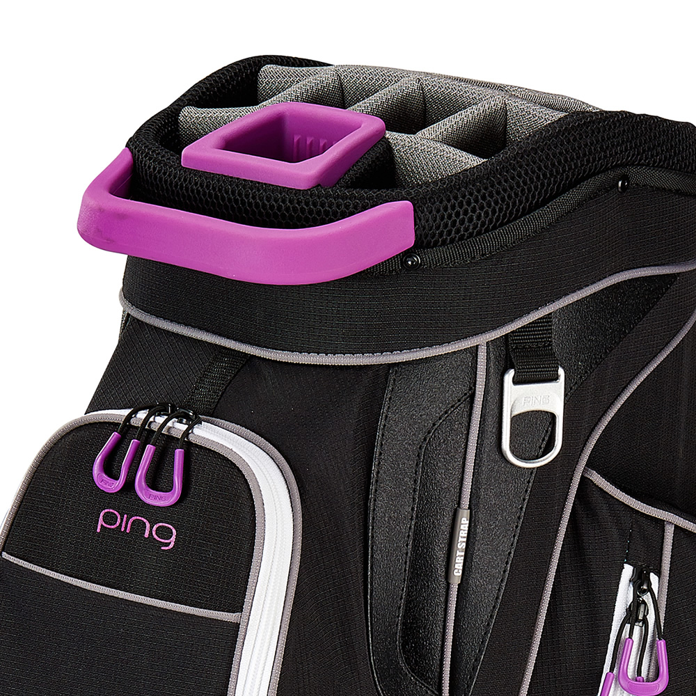 Ping Rhapsody Ladies Golf Cart Bag Black Berry
