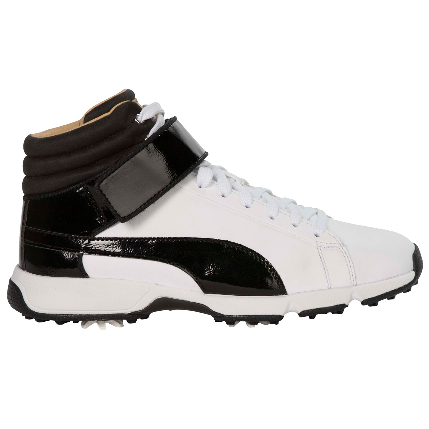 puma golf shoes. puma ignite high top rickie fowler junior golf shoes white/black | scottsdale