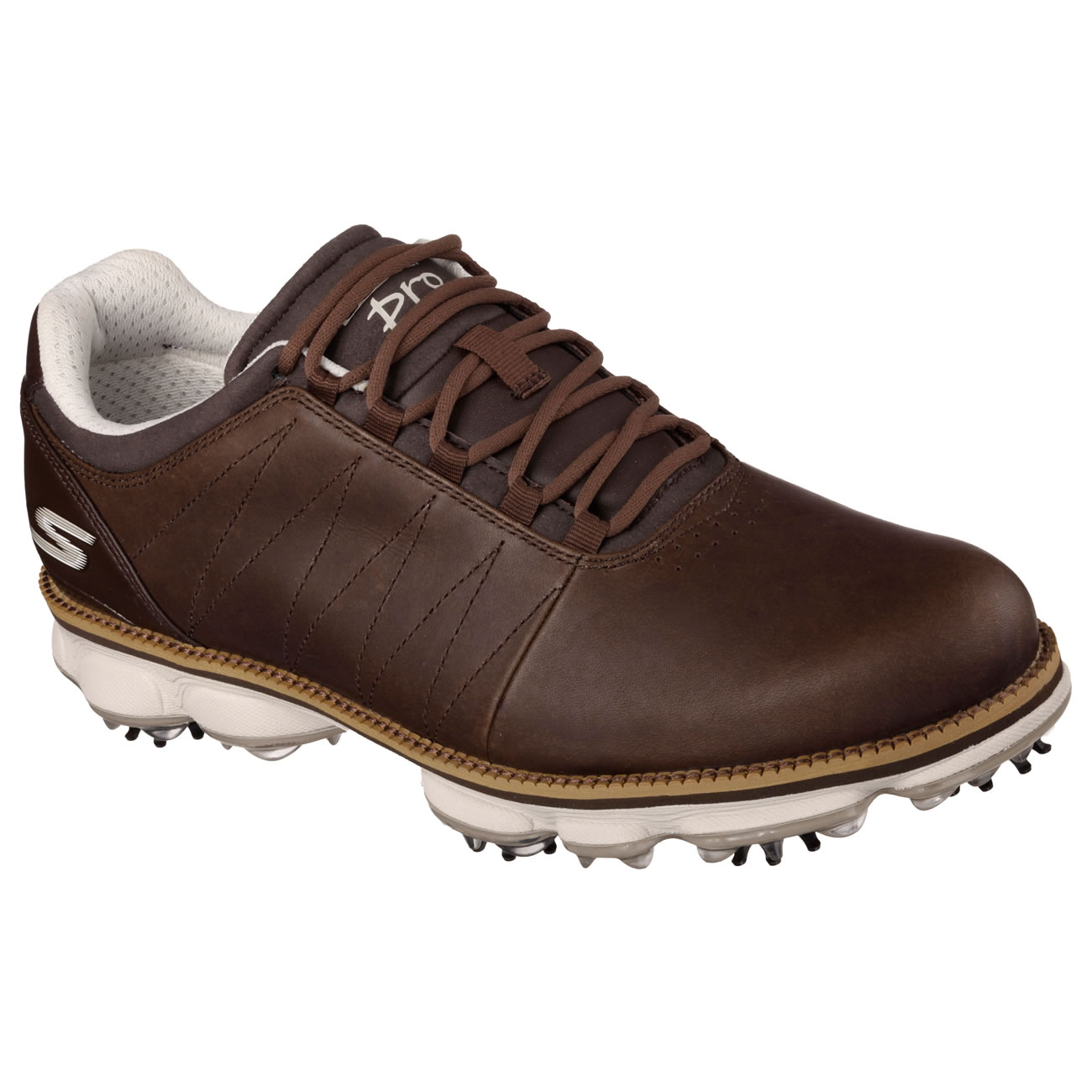Skechers Brown Kuchar Golf Shoes Size  Uk