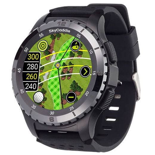 SkyCaddie LX5C GPS Golf Watch with Ceramic Bezel