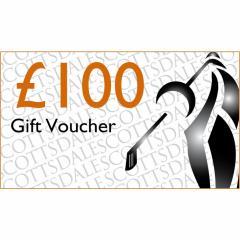 Scottsdale Golf £100.00 Gift Voucher