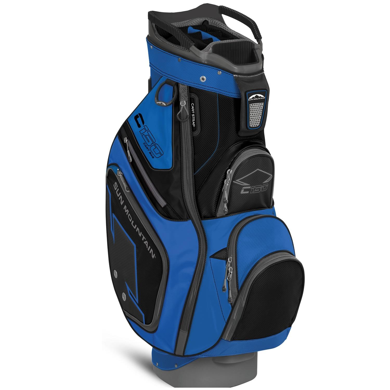 sun mountain c130 golf cart bag cobalt black scottsdale golf. Black Bedroom Furniture Sets. Home Design Ideas