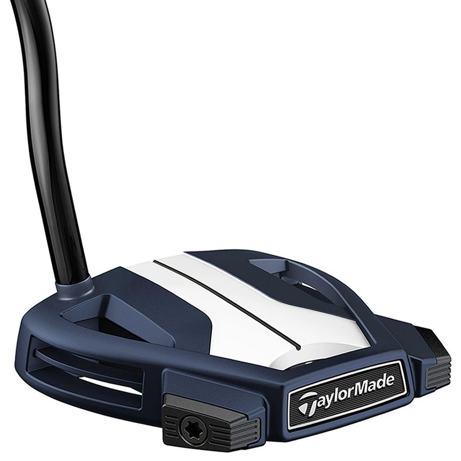 TaylorMade Spider X Golf Putter Navy/White Single Bend