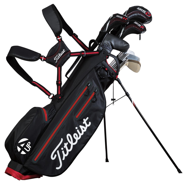 Light Stand Bag India: Titleist StaDry Light 4UP Waterproof Golf Stand Bag Black
