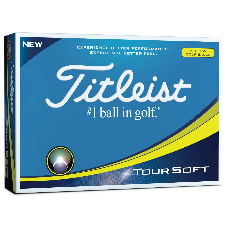 Titleist 2019 Tour Soft Golf Balls