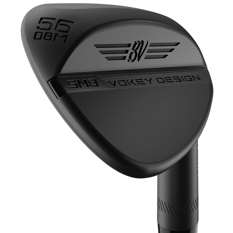 Titleist Vokey SM8 Golf Wedge Jet Black