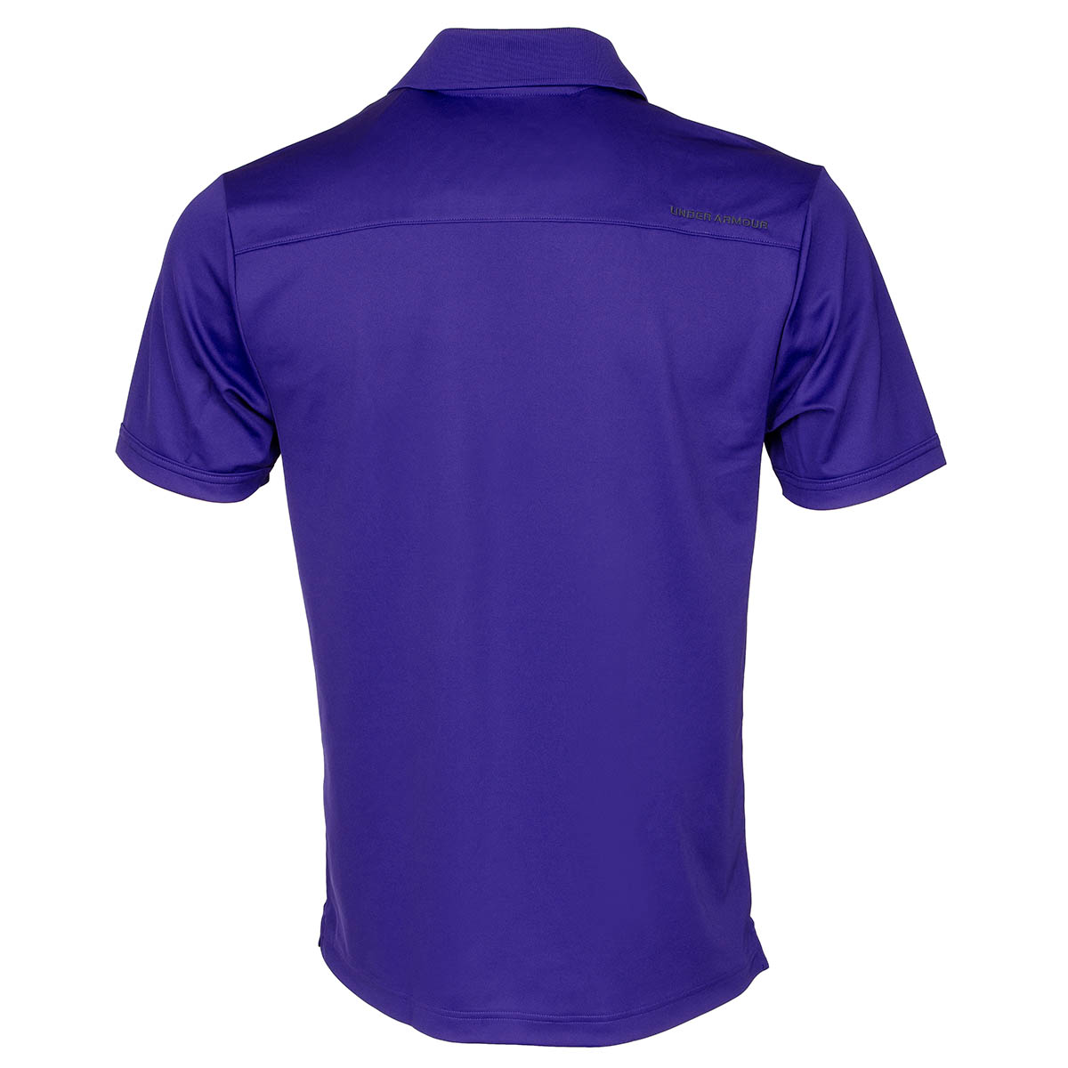Under armour performance polo shirt monarchy stealth grey for Under armour embroidered polo shirts