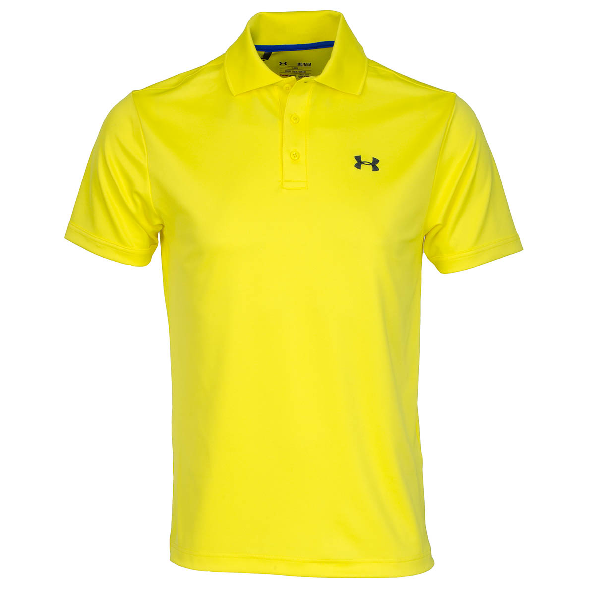 Under armour performance polo shirt sunbleached stealth for Under armour embroidered polo shirts