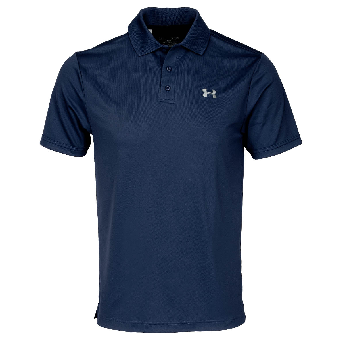 Under armour performance polo shirt academy steel for Under armour embroidered polo shirts